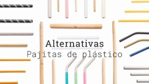 Alternativas pajitas plastico