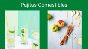 Pajitas comestibles